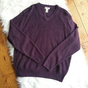 2/$30 Mens Dockers Purple LG Sweater